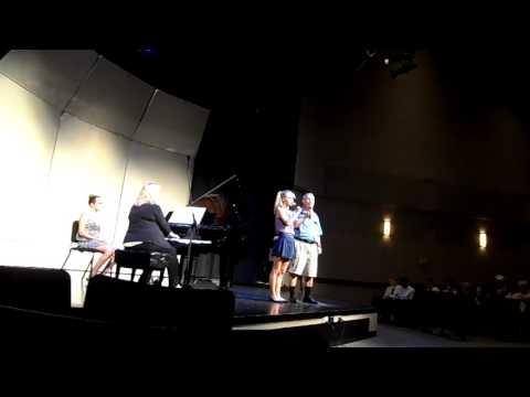 Sylvia & George Recital at Oakwood - September, 2016