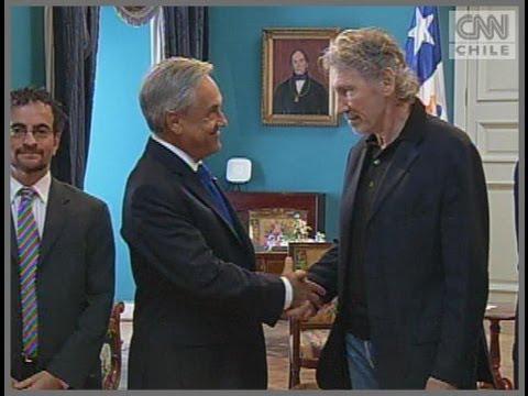 Roger Waters se reunió con el Presidente Sebastián Piñera