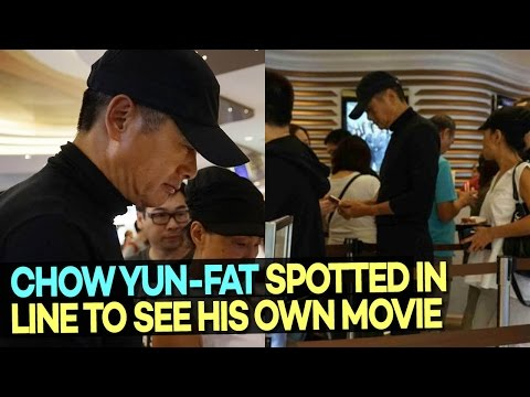Chow Yun-fat Spotted Lining Up for Tickets to See His Own Movie
