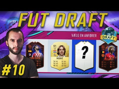 Packer Fantastisk UCL Walkout Efter Vild Draft! - FIFA 19 FUT Draft #10