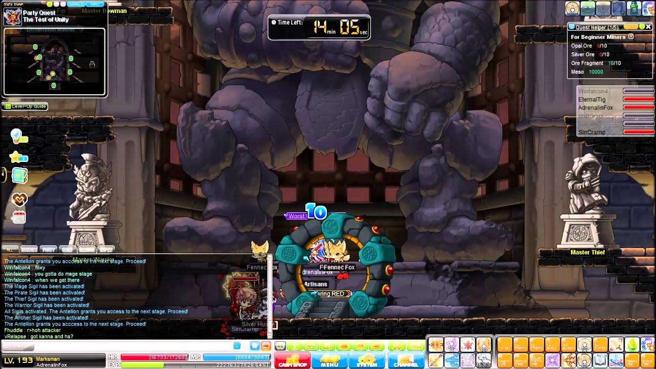 Crimsonwood Keep Party Quest MapleStory(CWKPQ)