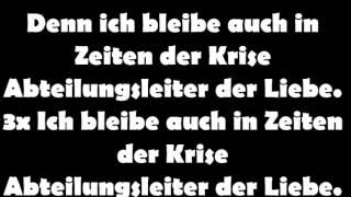 K.I.Z - Abteilungsleiter der Liebe Lyrics