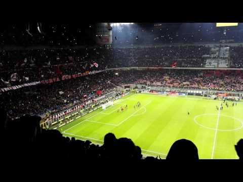 Milan - Juventus 22/10/2016 Inno Milan