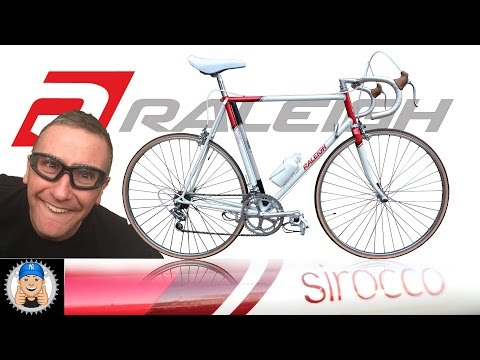 Vintage Raleigh Sirocco Road Bike Restoration