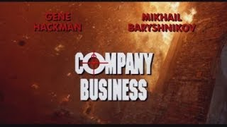 Company Business 1992 rare distributors trailer promo reel