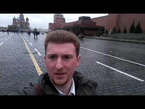 Caleb in Red Square - Let's Talk About Communism!