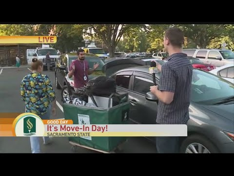 Sac State Move-In Day