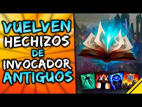 VUELVEN los HECHIZOS de INVOCADOR ANTIGUOS y MÁS CAMBIOS | Noticias League Of Legends LoL