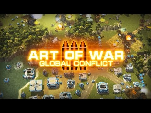 Art Of War 3: Global Conflict - modern PvP RTS ANDROID and iOS full promo trailer