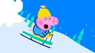 Свинка Пеппа на русском все серии подряд - Крошка-поросенок - целиком серии
