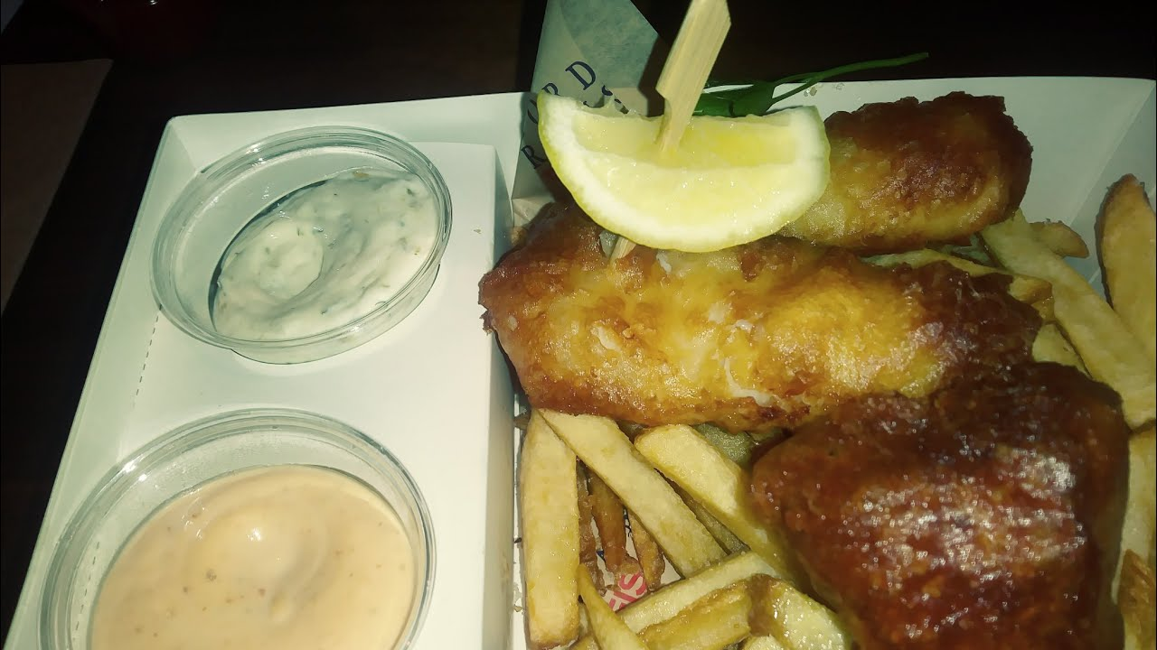 Gordon ramsay fish and chips on the linq by the flamingo for Gordon ramsay las vegas fish and chips