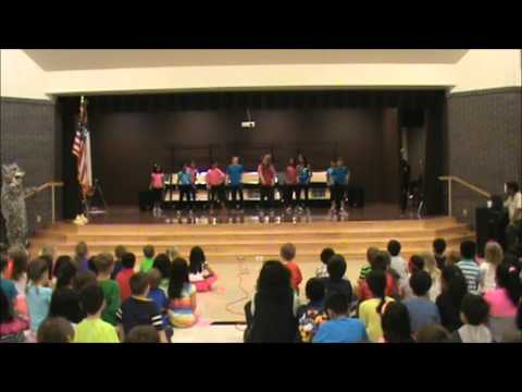 Elsa England Elementary School Spirit Assembly  - The Water Warriors  - May 9, 2014