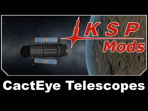 KSP Mods - CactEye Telescopes Continued