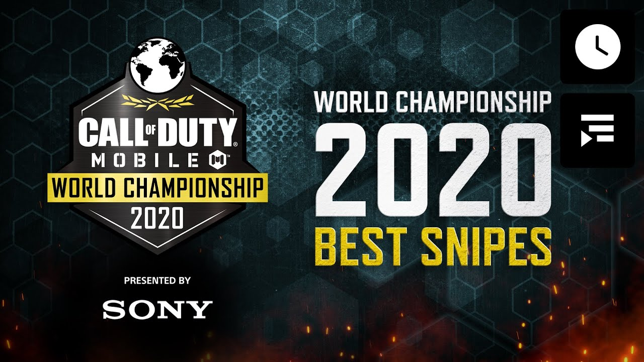 Call of Duty®: Mobile - World Championship 2020 Highlights - Qualifiers Best Snipes