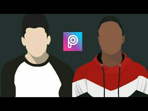 How To Create Vector Like Marques Brownlee Logo | PicsArt Tutorial (bahasa)