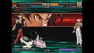 [TAS] KOF 2002 Unlimited Match Playstation 2 - Orochi Team Play
