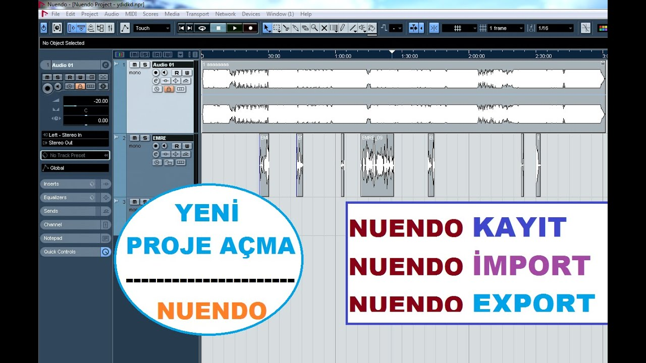 Cubase 5 Tutorial - Export Your Song To Mp3