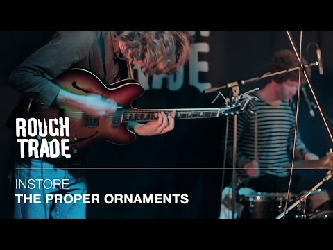 The Proper Ornaments - Back Pages | Instore at Rough Trade East, London