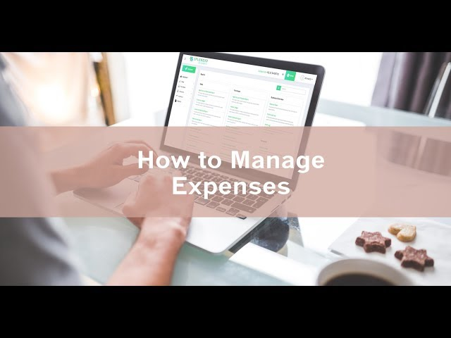 How to manage expenses - Splendid Accounts