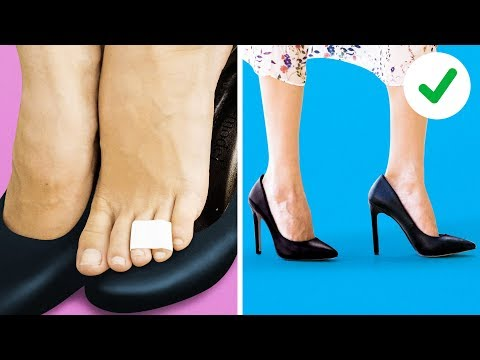 18 GENIUS SHOE HACKS EVERY GIRL SHOULD KNOW