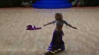 Angelina - انجلينا طفلة اكرانية ترقص شرقي ببراعه