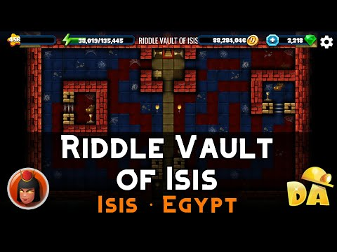 Riddle Vault Of Isis Isis Walkthrough Diggy S Adventure Help