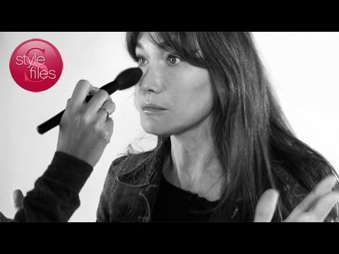 Carla Bruni Talks About Her On-Stage Look for Style Files