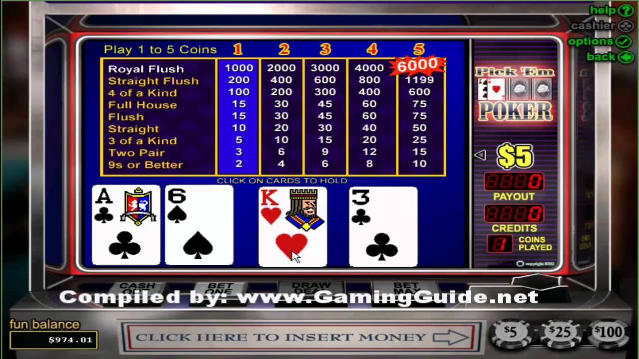 Play pick em poker pmu poker appli mobile