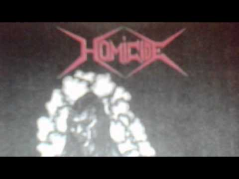 HOMICIDE - Death the Final Frontier (Demo from 1991) 1 of 2
