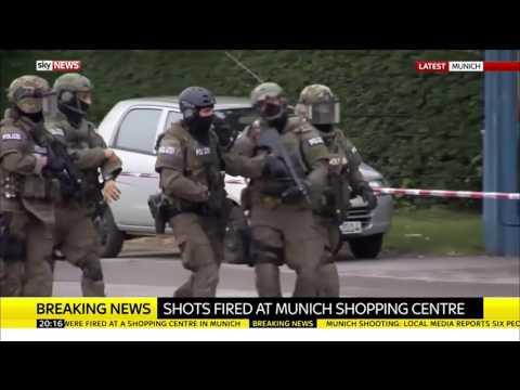 Munich Shooting: Police Operation