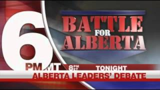 Alberta leadership debate