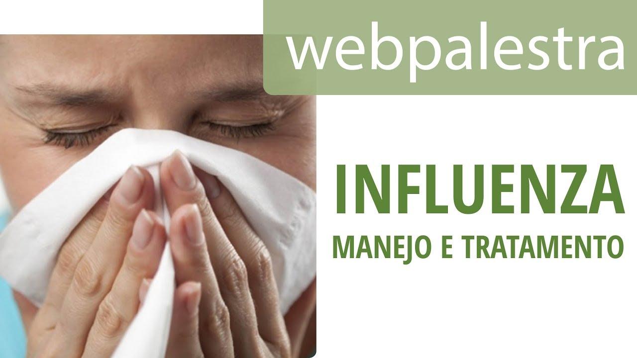 influenza kezelése