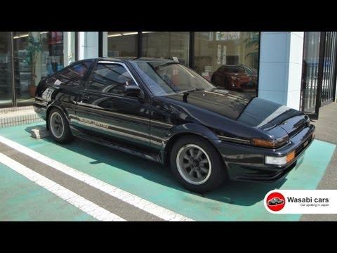 Black beauty: The Toyota Sprinter Trueno