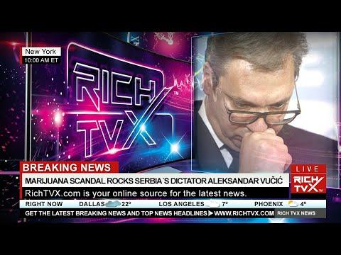 Breaking News: Marijuana Scandal Rocks Serbia´s Dictator Aleksandar Vučić