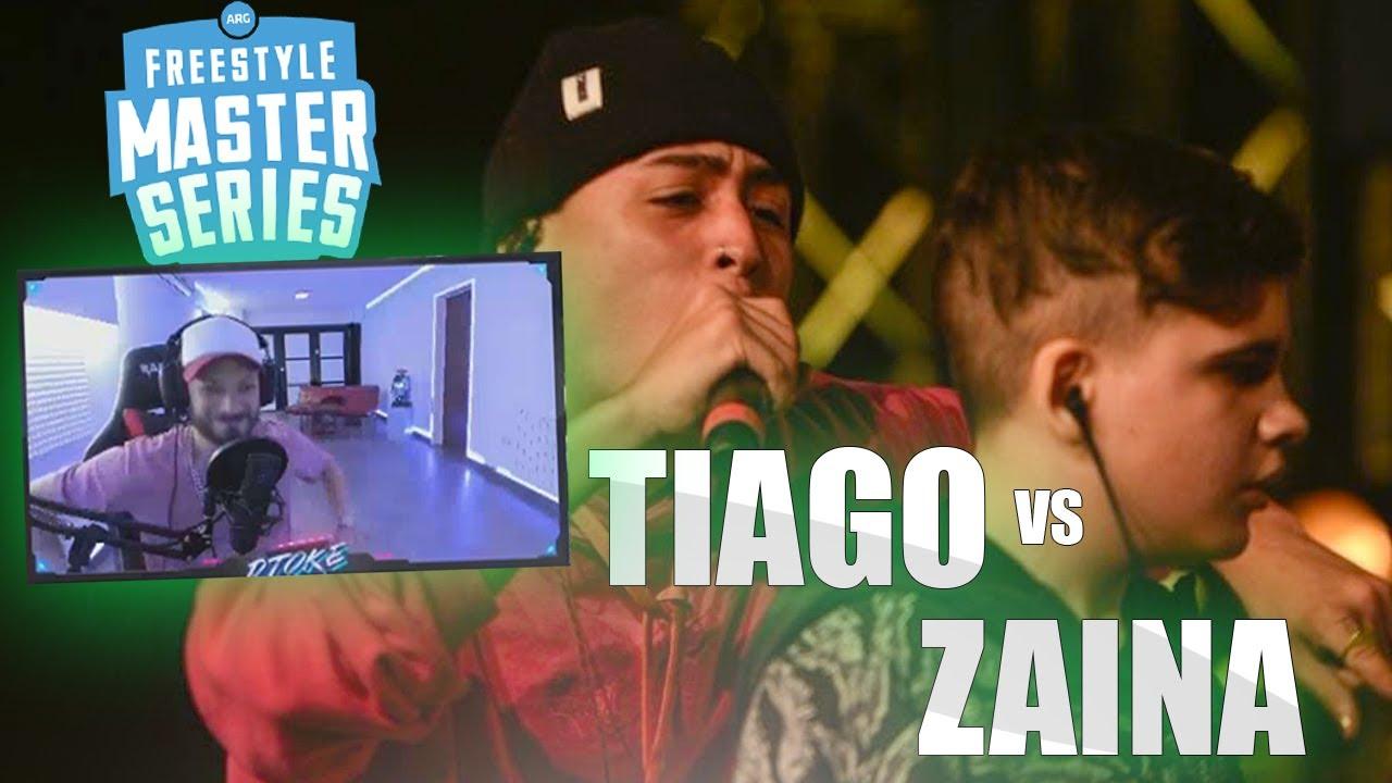 Download DTOKE REACCIONA A TIAGO VS ZAINA | FMS ARGENTINA JORNADA 2