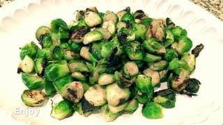 Easy to make Grilled Brussel Sprouts