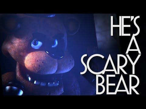 [FNAF SFM] He's a Scary Bear - Fandroid (Caleb Hyles Version)
