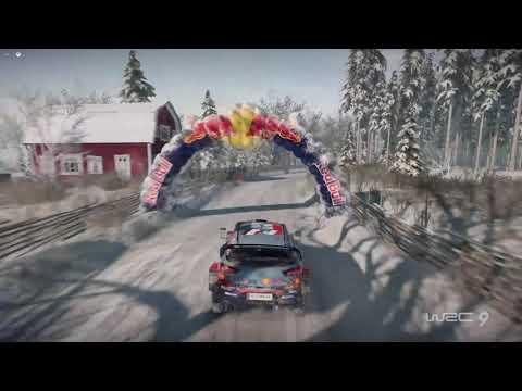 Hyundai i20 - WRC 9 | TOP10 Vergasen Reverse Sweden Chase Cam + On-board | Thrustmaster TX |