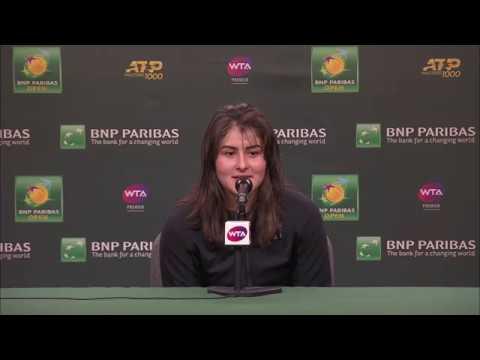 Bianca Andreescu Semifinal Match Interview