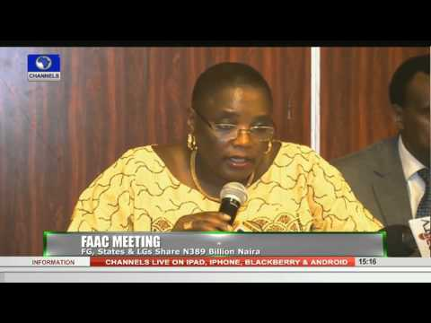 News Across Nigeria: FG, States & LGs Share N389bn