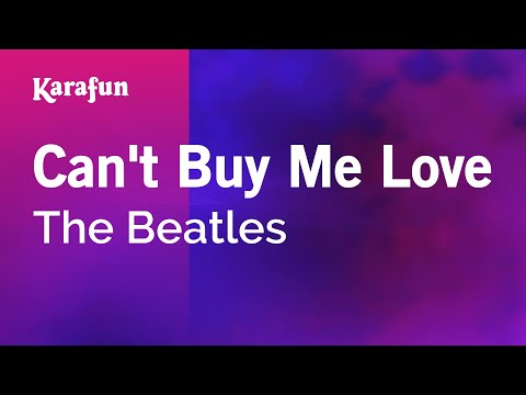 Karaoke Can't Buy Me Love - The Beatles *