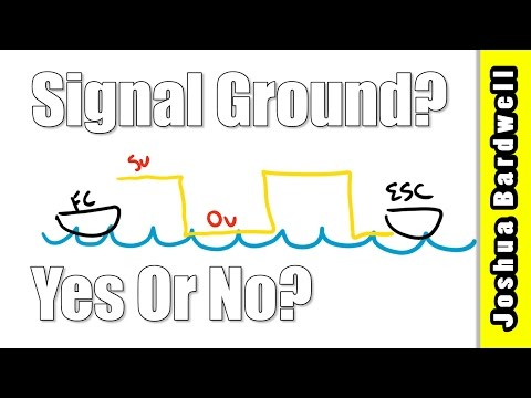 ESC Signal Ground: Yes or No? | WHY THE ANSWER IS YES