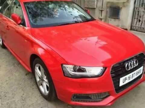 Audi A4 2.0 TDI 177 bhp Premium For Sale @ 31,25,000 Lakhs