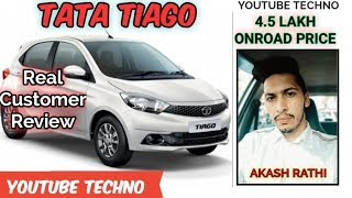 TATA Tiago Customer Review | Mileage, Ratings, Features - Owner Review || Youtube Techno