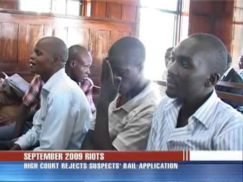 Kayunga riot suspects denied bail