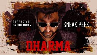 DHARMA | SNEAK PEEK TEASER | CGI ANIMATED SHORT FILM | RAJINIKANTH