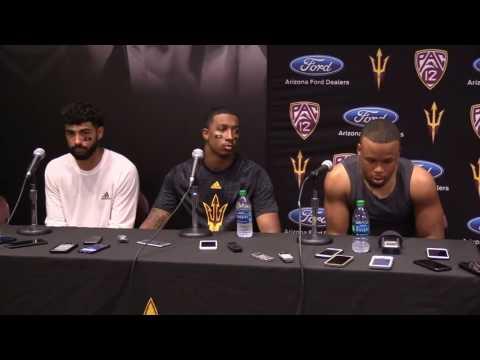 ASU vs NAU Student-Athlete Media Availability