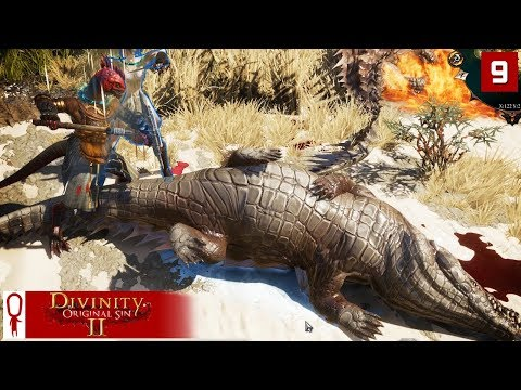 SLAYING DRAGONS (Ok, Crocodiles) - Divinity Original Sin 2 Gameplay Part 9 - [Coop Multiplayer]