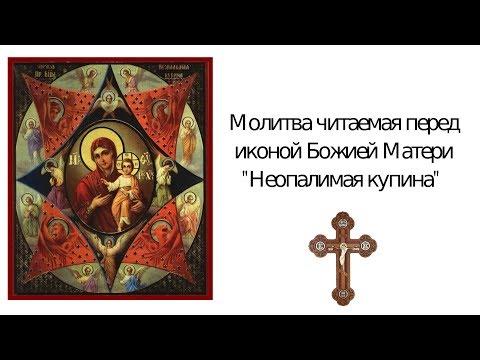 """Молитва от пожара иконе Божьей Матери """"Неопалимая купина"""""""