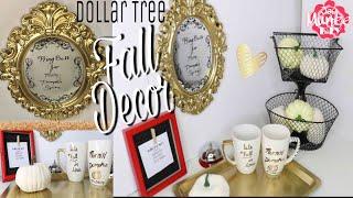 Dollar Tree DIY Fall Decor Coffee Bar
